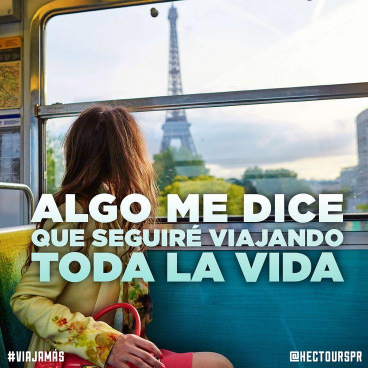 Algo me dice que seguiré viajando toda la vida. #viajamás #viajeroboricua #hectourspr #viajes