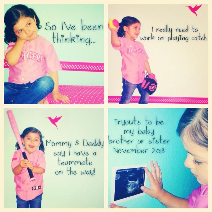 1000 ideas about Second Baby Announcements – Ways to Announce a Second Baby