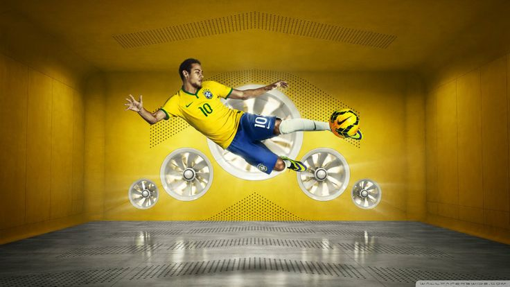 Free Shipping! Send Me your Photo Custom Your own personal Poster Custom Neymar 2015 Wallpaper 50X75CM