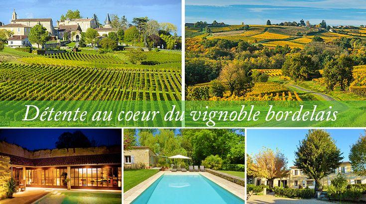 Week end détente au coeur du vignoble bordelais 3 maisons d'hôtes & Spa à découvrir pour un séjour bien-être au coeur des vignes. Profitez d'une escapade dans le Bordelais pour séjourner et vous détendre dans dans une maison d'hôtes avec spa nichée en plein cœur des vignes.  #vignoble #bordelais #vin #spa #detente #bienetre #weekend #chambredhotes #chambresdhotesdecharme #bordeaux #saintemilion