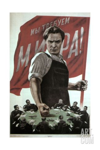 We Need Peace!, 1950 Giclee Print by Viktor Borisovich Koretsky at Art.com