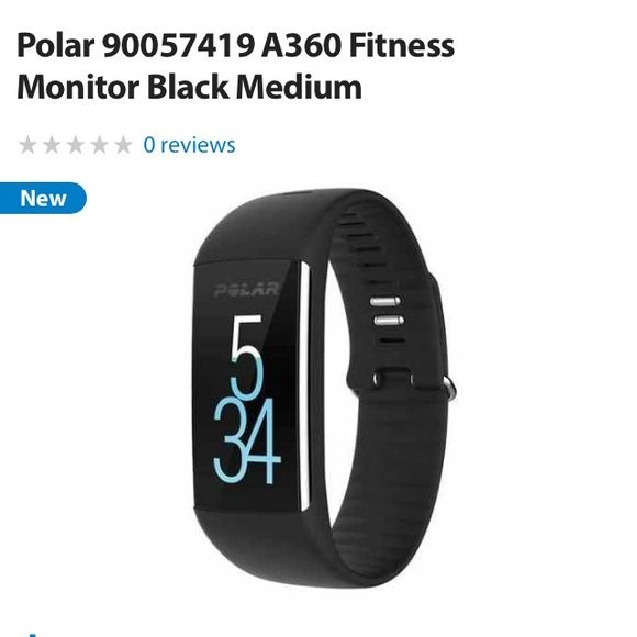 Polar fitness watch a360 Brand new!! Tried it out for one day but still have original packaging and charger. Flexible with price! Polar Other