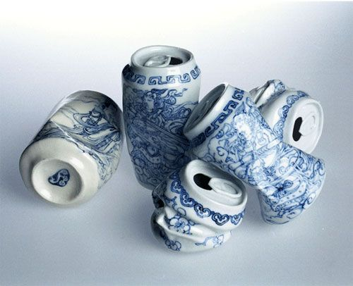 "gasp!!! love this! ""Drinking Tea"" 2007 by Lei Xue"