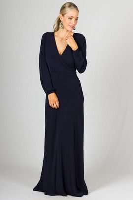 Catalina Maxi Dress - Navy by Paper Scissors Frock