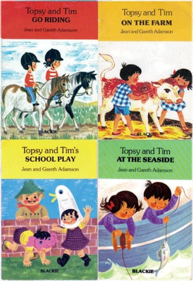 Topsy and Tim Books - loved these when I was little.