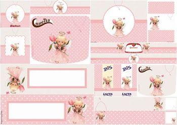 Angelita Precious Moments: Etiquetas para Candy Bar para Imprimir Gratis.