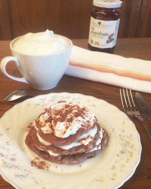 Pancakes di ceci