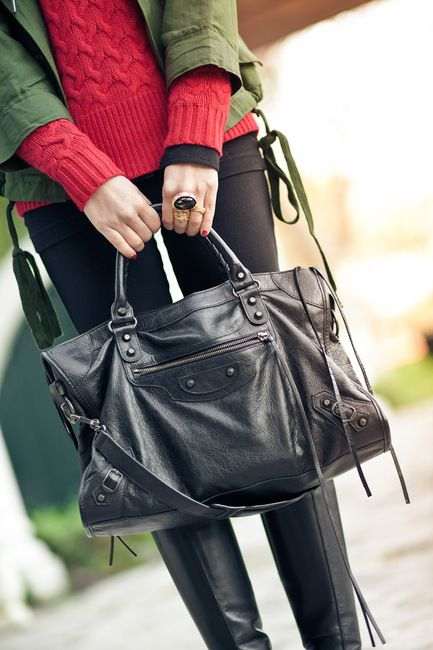 i would like to own a black balenciaga motorcycle bag before i die. it's healthy to have goals.