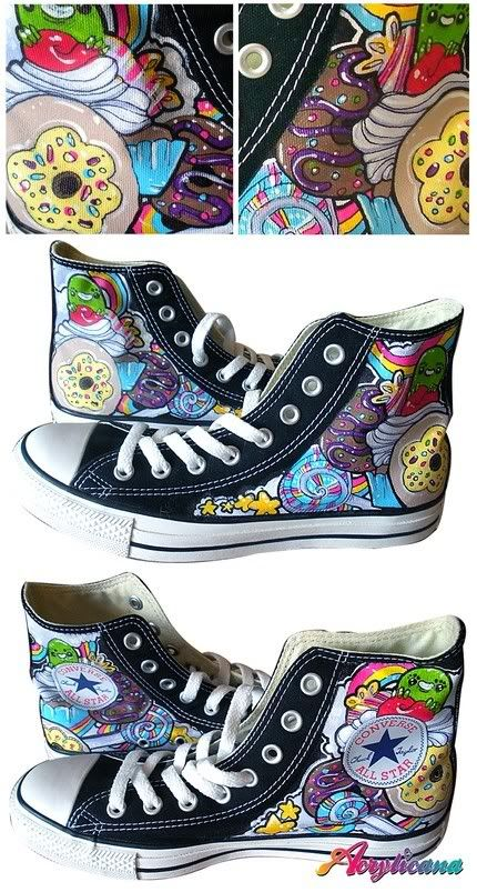 acrylicana hand painted shoes | All Stars in 2018 | Pinterest | Painted shoes, Hand painted shoes and Shoes