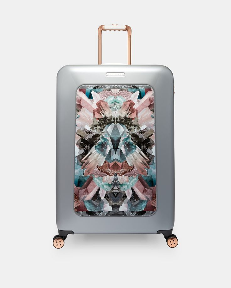NANDIA Mirrored Minerals large suitcase #TedToToe