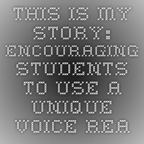 This is My Story: Encouraging Students to Use a Unique Voice - ReadWriteThink Using Little Red Riding Hood