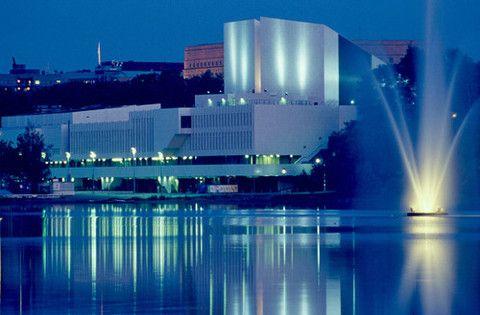 "Дворец ""Финляндия"", Хельсинки."