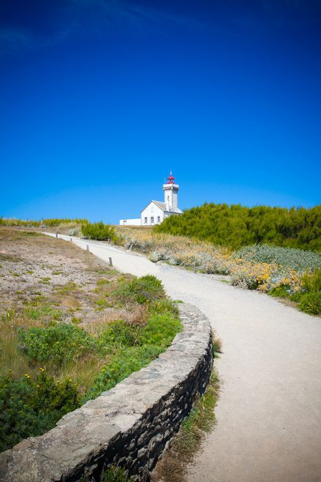 Phare (lighthouse) Belle Ile, Golfe-de-Morbihan, sud Bretagne.