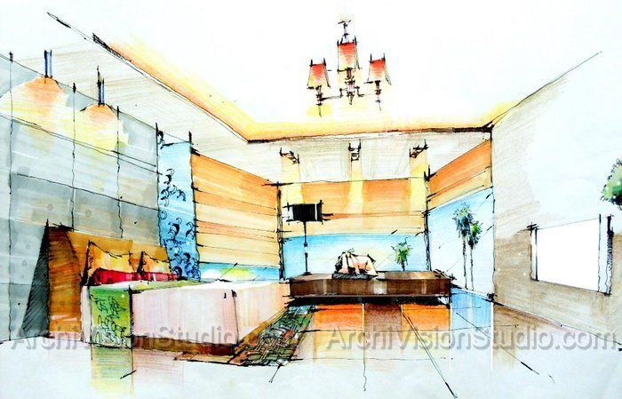 Render Rendering Interior Design Renderings Interior