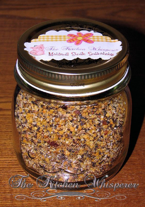Adding a little spice to your... kitchen :) Montreal Steak Seasoning