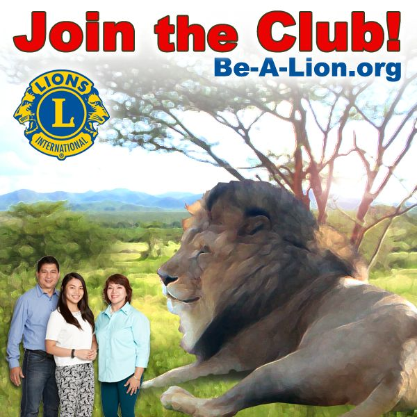 Interested in becoming a Lion? Please go to http://be-a-lion.org/ and complete the Prospective Member form, or use the search capability to find a club near you and contact them directly.