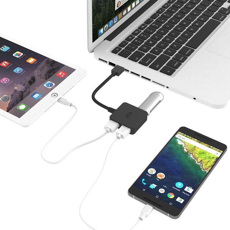 Superisparmio's Post Mini HUB USB  ICZI Hub USB 3.0 4 Porte Ultra Mini Hub USB 3 per Trasmissione Dati Alta Velocità (5 Gbps) e Sincronizzazione  In offerta a solo 6.99 con coupon: EJ4LRUBB   http://ift.tt/2tFPLp1
