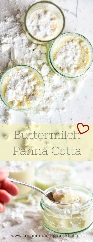 Buttermilch Panna Cotta ist die Sommervariante des italienischen Klassikers. Das Dessert ist ganz einfach zu machen. Mit diesem Rezept gelingt es bestimmt. Guten Appetit