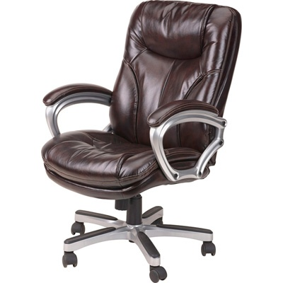Lane Puresoft Executive fice Chair Chestnut