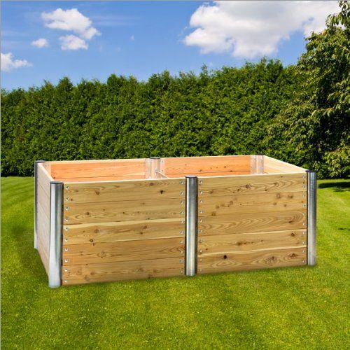 """Hochbeet """"Premium Duo"""" rechteckig 210x109x75 cm: Amazon.de: Garten"""