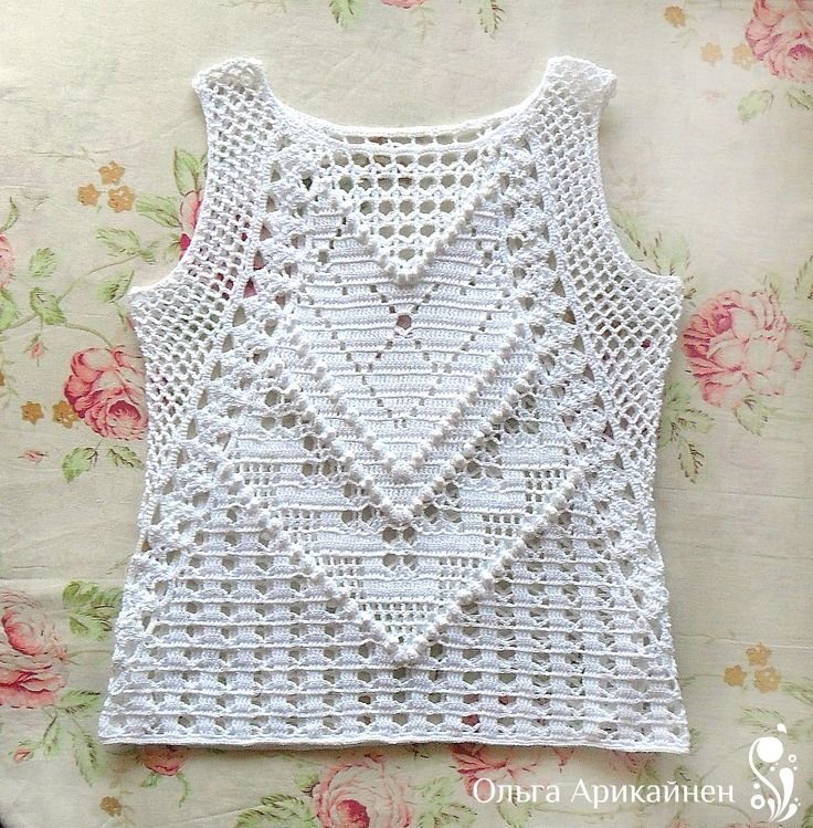Mejores 125 imágenes de moculosas de crochet en Pinterest | Blusas ...