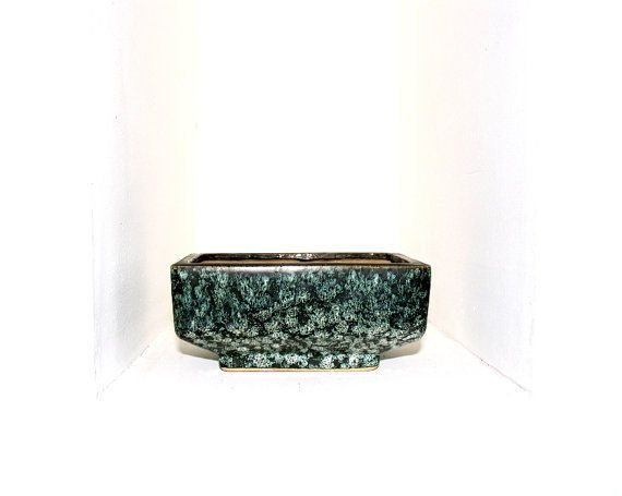 Dekorative West Germany Vetter Schale aus Keramik. Sammlerstück Made in Germany