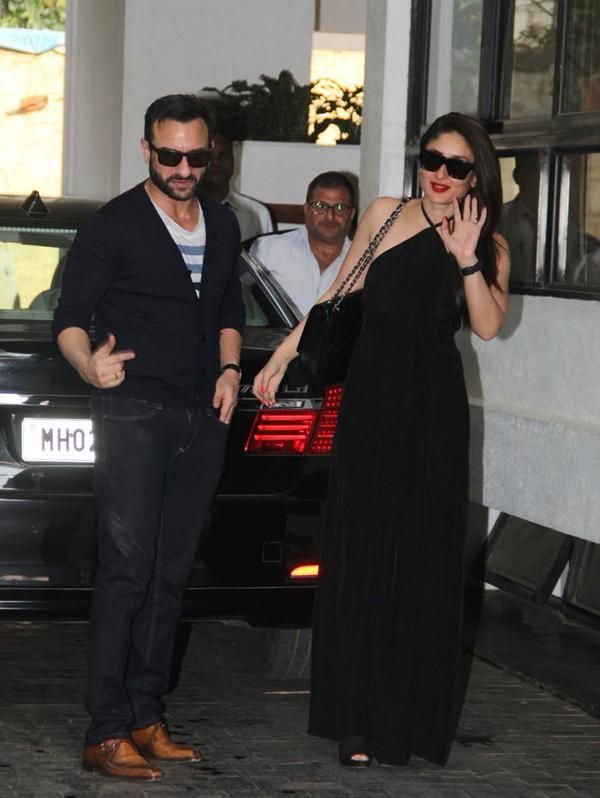 Kareena Kapoor with her husband Saif Ali Khan