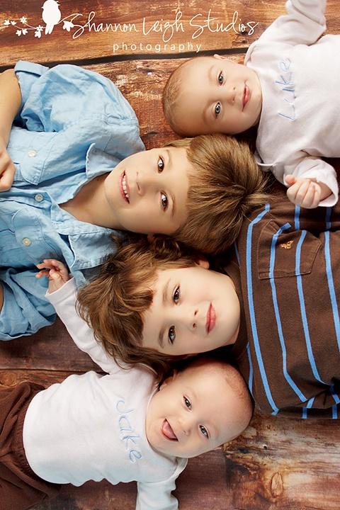 Posing four boys. NOT easy!! www.shannonleighstudios.com