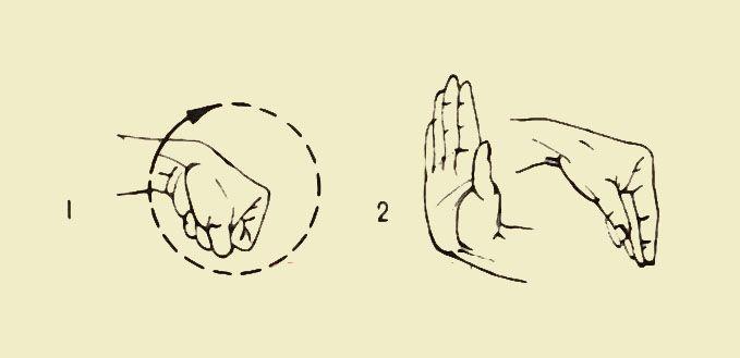 Гимнастические упражнения для пальцев рук