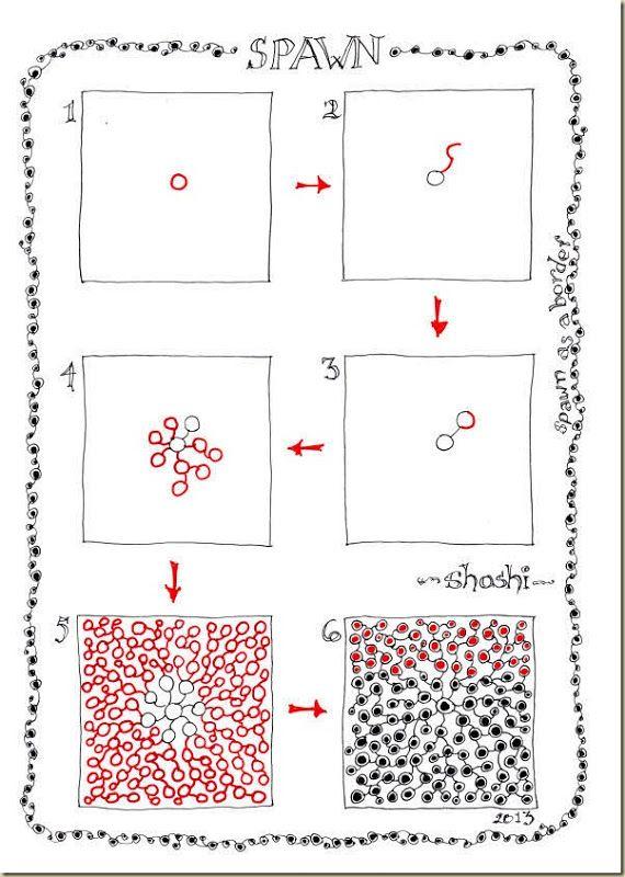 Shoshiplatypus: Tangle Pattern: Spawn