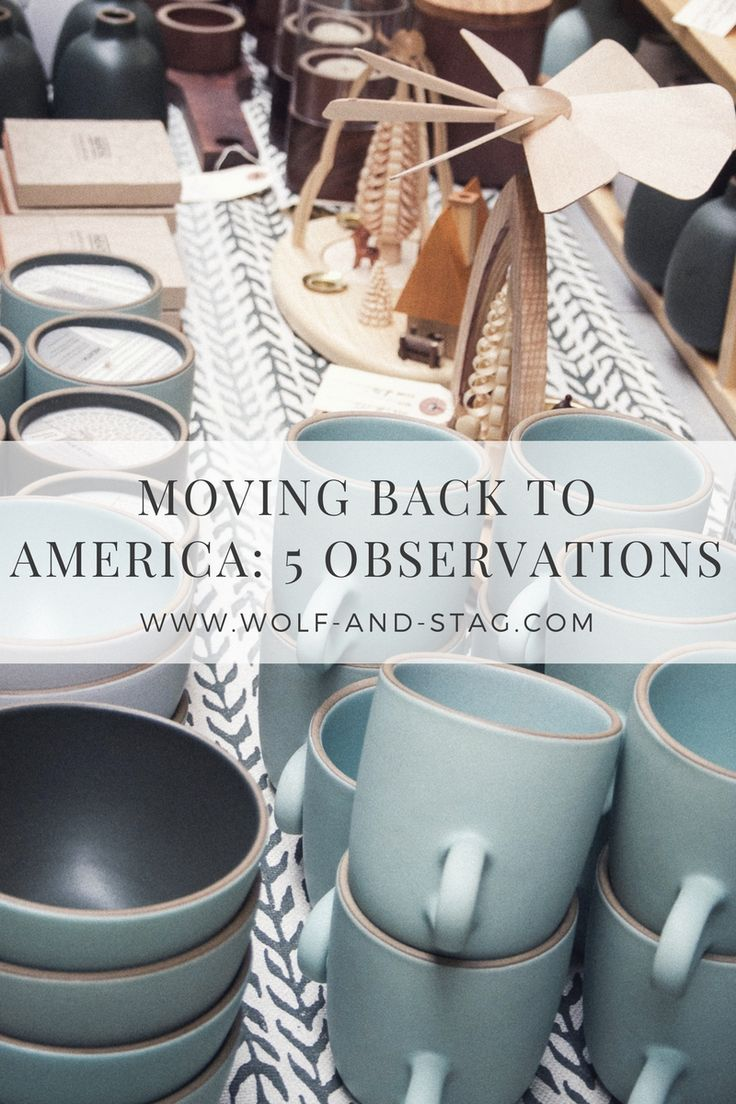 Eight years later, I've finally moved back to the US! Here are 5 observations I've made about moving back to America. The good, the bad, and the delicious Mexican food | visit wolf-and-stag.com | Wolf & Stag