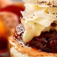 "Vegetarian Grilling: Barbecued Portobello ""Cheeseburgers"" Recipe- i..."