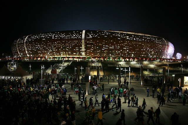 Soccer City Stadium by babasteve, via Flickr