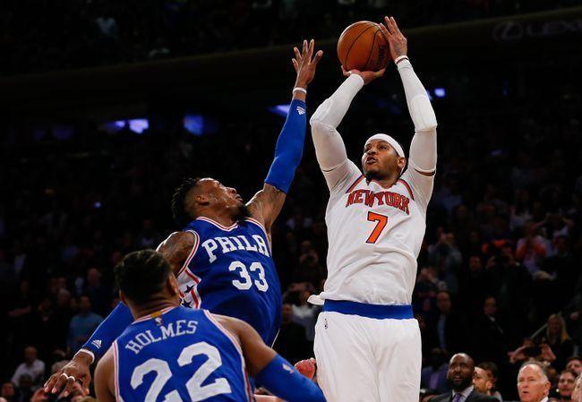 Philadelphia 76ers vs. New York Knicks - 3/3/17 NBA Pick, Odds, and Prediction
