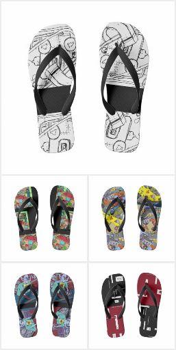 Va-cA flip flops/jandals for him by DAL