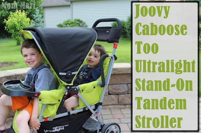 Joovy Caboose Too Ultralight StandOn Tandem Stroller