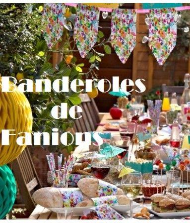 13 best Banderole de Fanions Décoration images on Pinterest
