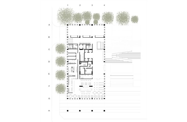 Image 12 of 14 from gallery of MOBO Architects Win Competition to Design Government Building in Bogotá, Colombia. © MOBO Architects