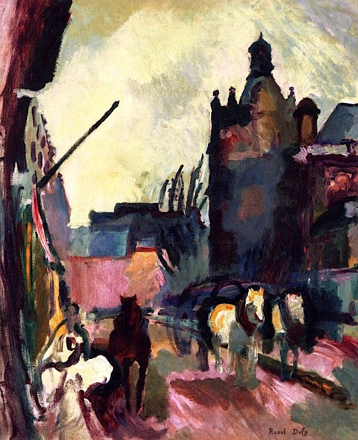 The Hitch (also known as Rue de Falaise) Raoul Dufy - 1905-1906