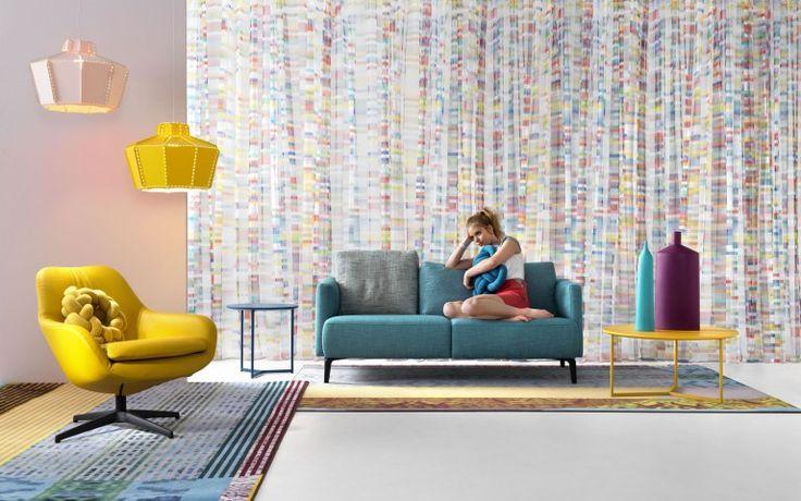 Bij designmerk #Pode vind je de mooiste #banken en #stoelen die je helemaal naar eigen wens kunt laten bekleden. #Flindersdesign #bank #fauteuil #woonkamer #kwaliteitsstoffen