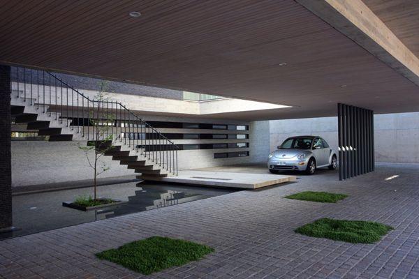 25 best ideas about modern garage on pinterest modern for Garage ad barlin