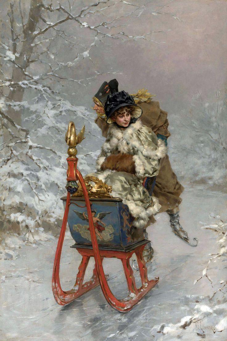 Thé au Jasmin: La Touraine sous la neige...                                                                                                                                                                                 Plus