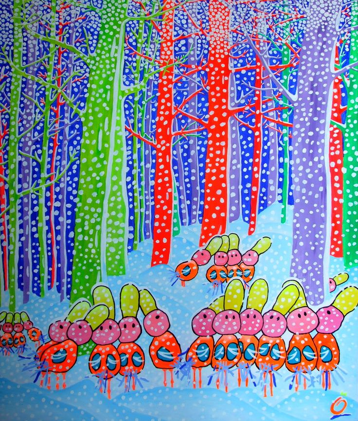"""""""SNOW OBSESSION"""". Size: 47.2-39.4 inch (120-100 cm)