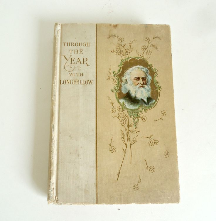 Through the Year with Longfellow Book: Daily Quotes by TreasureCoveAlly on Etsy