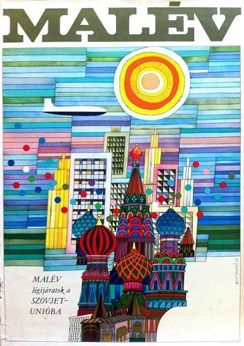 Andras Mate, Malev, 1966