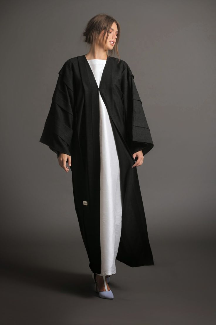 Daily modest black abaya by NAFS