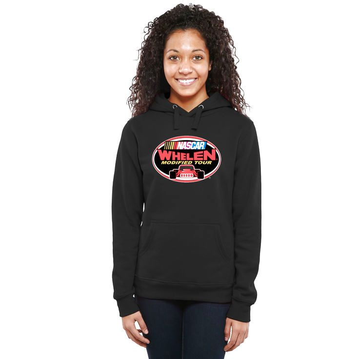NASCAR Merchandise Women's NASCAR Whelen Modified Tour Logo Pullover Hoodie - Black - $49.99