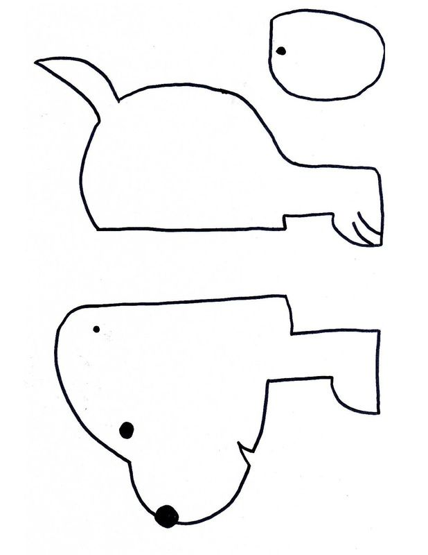 How to make a stretchy accordian sausage dog craft for kids with templates printable