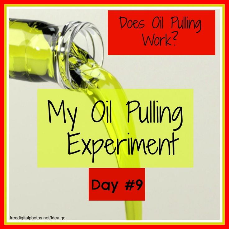 Does Oil Pulling Work? My Oil Pulling Experiment Day #9 -