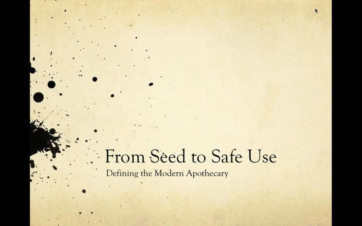 """This is """"From Seed to Safe Use: Defining the Modern Apothecary with Eric Yarnell, Eric McKinney, and Erin Murrell"""" by American Herbalists Guild on Vimeo,…"""